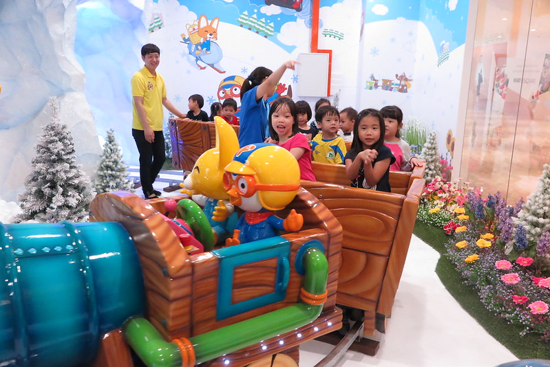 Pororo Express Train Ride at Pororo Park Marina Square by The Loving Mum