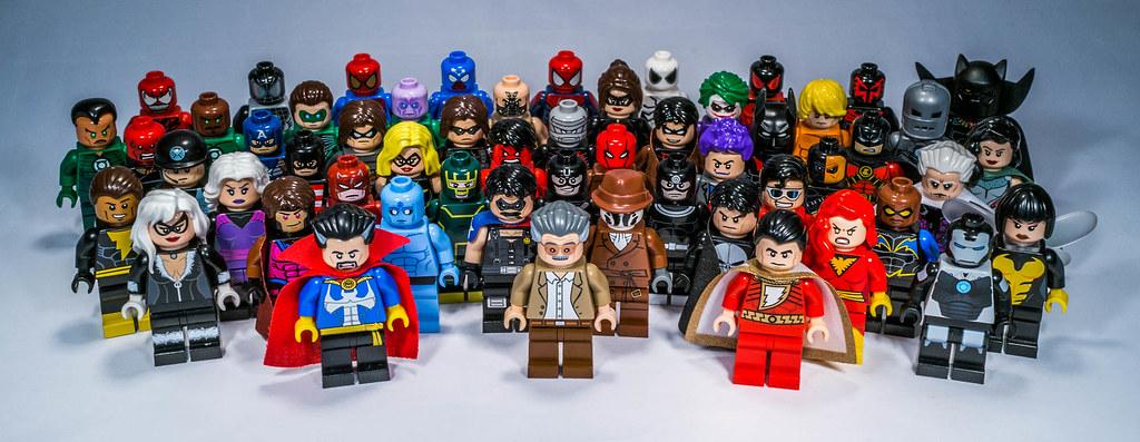 6 Malvorlagen Lego Superheroes: My Lego Super Heroes Customs Collection
