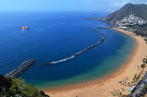 Playa de las Teresitas, Santa Cruz, Tenerife