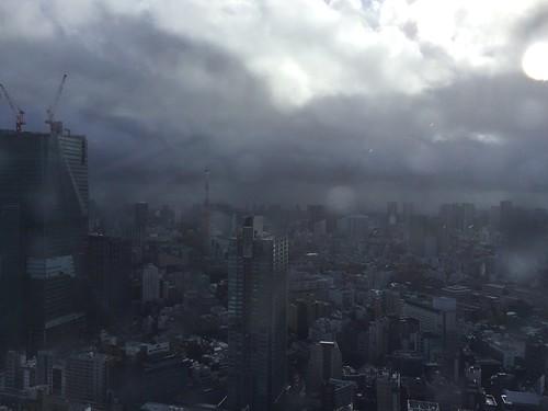 朝から大雨、天気雨、晴れ