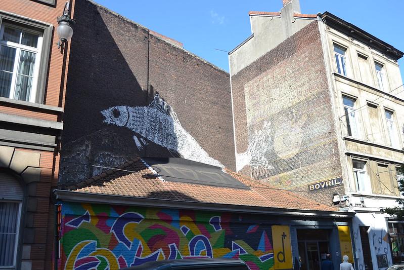 Bruxelles. Quartier Sainte Catherine et Metro Chapelle. 09/10/2016 fotos de zeroanodino para URBANARTIMAÑA