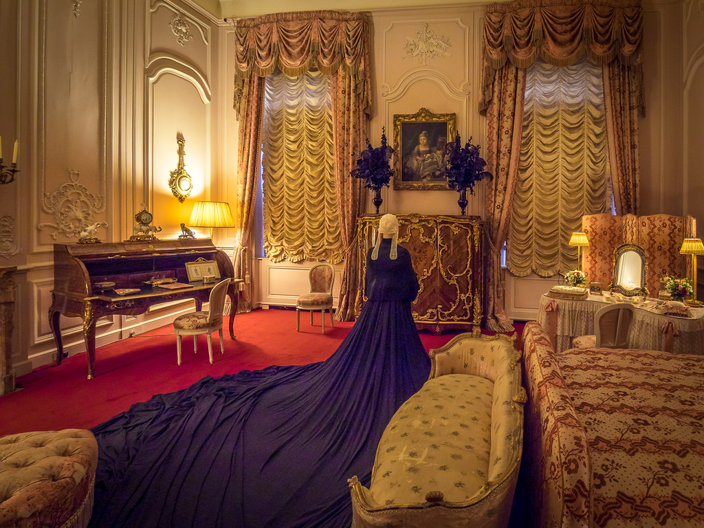 Queen Victoria S Bedroom Waddesdon Manor Reminiscent Of