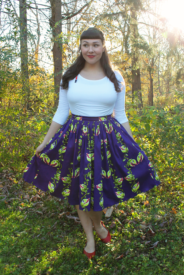 venus fly trap skirt
