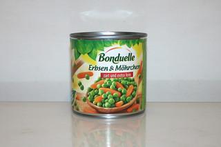 12 - Zutat Erbsen & Möhren / Ingredient peas & carrots