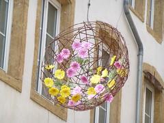 Blumenschmuck in Thionville