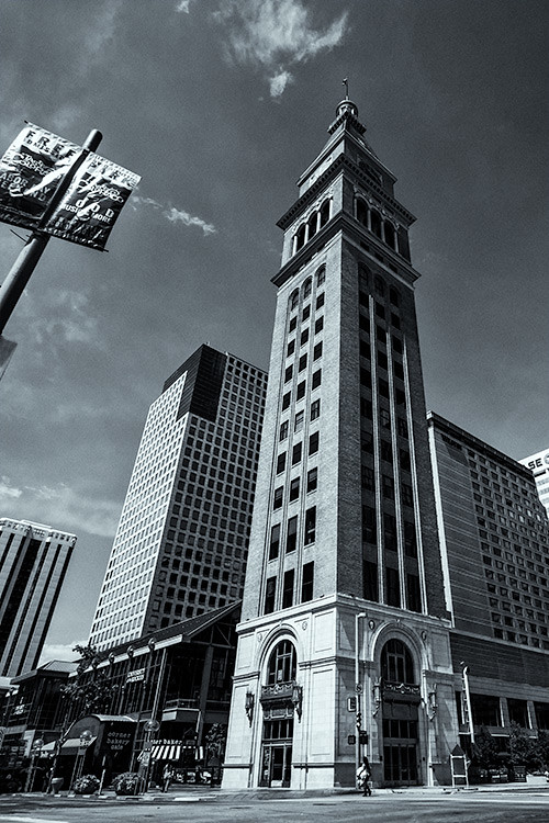 Daniels & Fisher Tower, 16th Street Mall, Denver