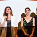 Alison Brie, Leslye Headland, Lizzy Caplan, Kirsten Dunst at Sleeping with Other People, LA VIP advance screening