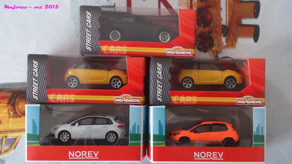 Majorette Bmw X5 Opel Adam Norev Citroen C4 Et P