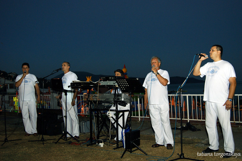 "Группа ""Stari kapetan"" в Игало"