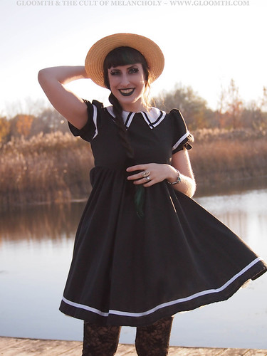 sailor collar dress gloomth canada toronto
