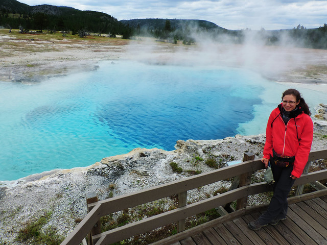 Yellowstone's Geothermal Wonders: Yellowstone National Park, Wyoming, USA