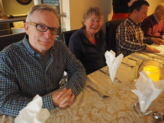 Nick Harrop, Rosemary Spencer, and Carl Hallows