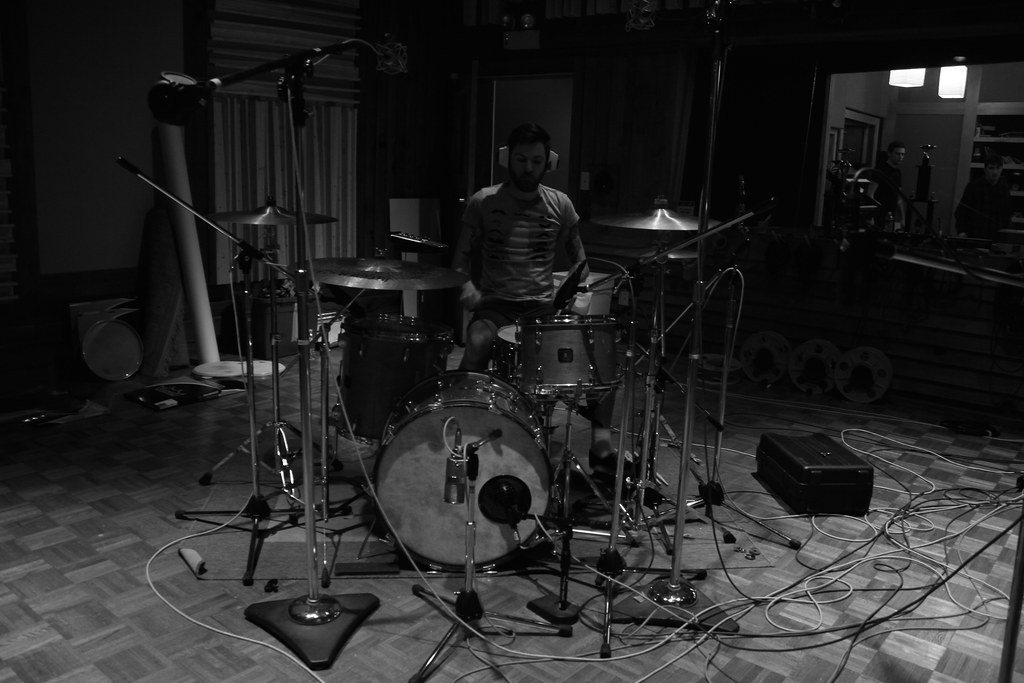 Recording drums II