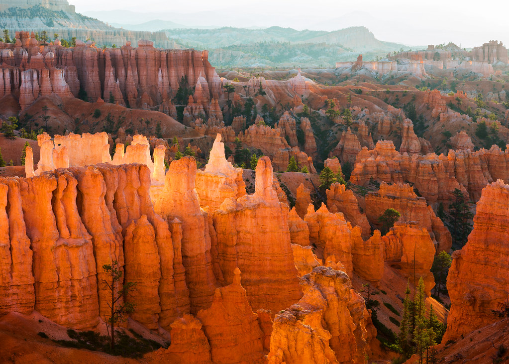 Bryce canyon hoodoo glow landscape another shot of the for Cabine vicino a bryce canyon