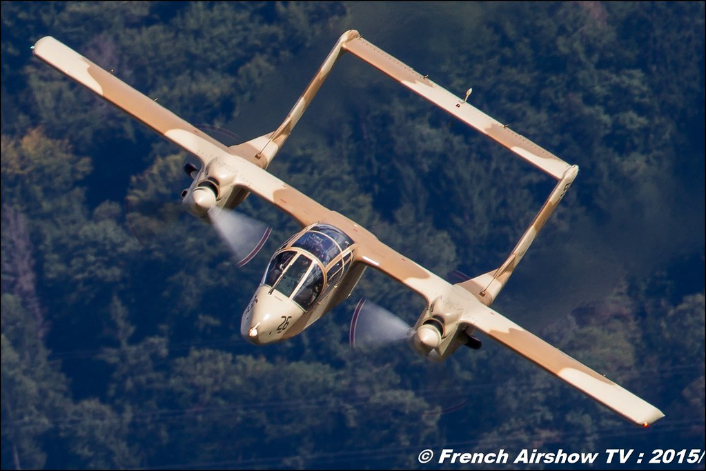 North American Rockwell OV-10B Bronco 2015 , F-AZKM , montelimar ,Coupe Icare 42 edition 2015 , St Hilaire Touvet , coupeicare 2015 , Meeting Aerien 2015