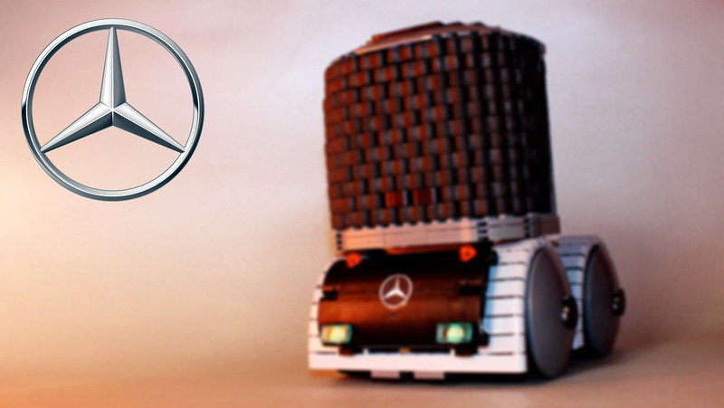 Mercedes Benz Truck Of The Future Lego Technic And Model Team