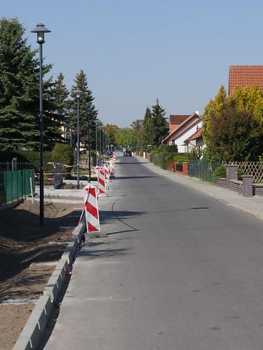Zwischenstand Baustelle Köpenicker Strasse