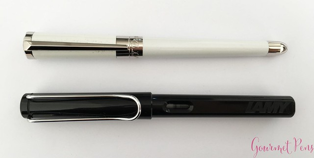 Review ST Dupont Liberté White Pearl Fountain Pen @Iguana_Sell 6