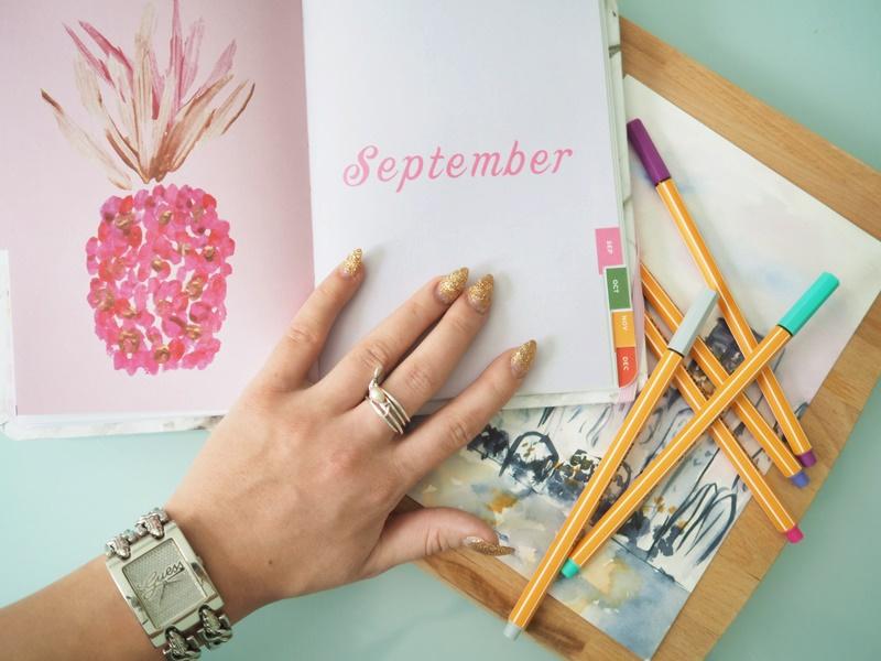 nunuco design sebtember agenda kalenteri stabilo