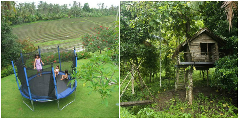 villazolima-trampoline and treehouse collage