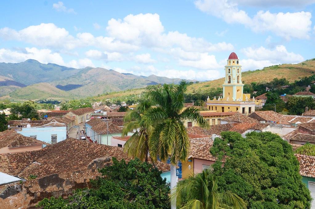 Trinidad, rooftop