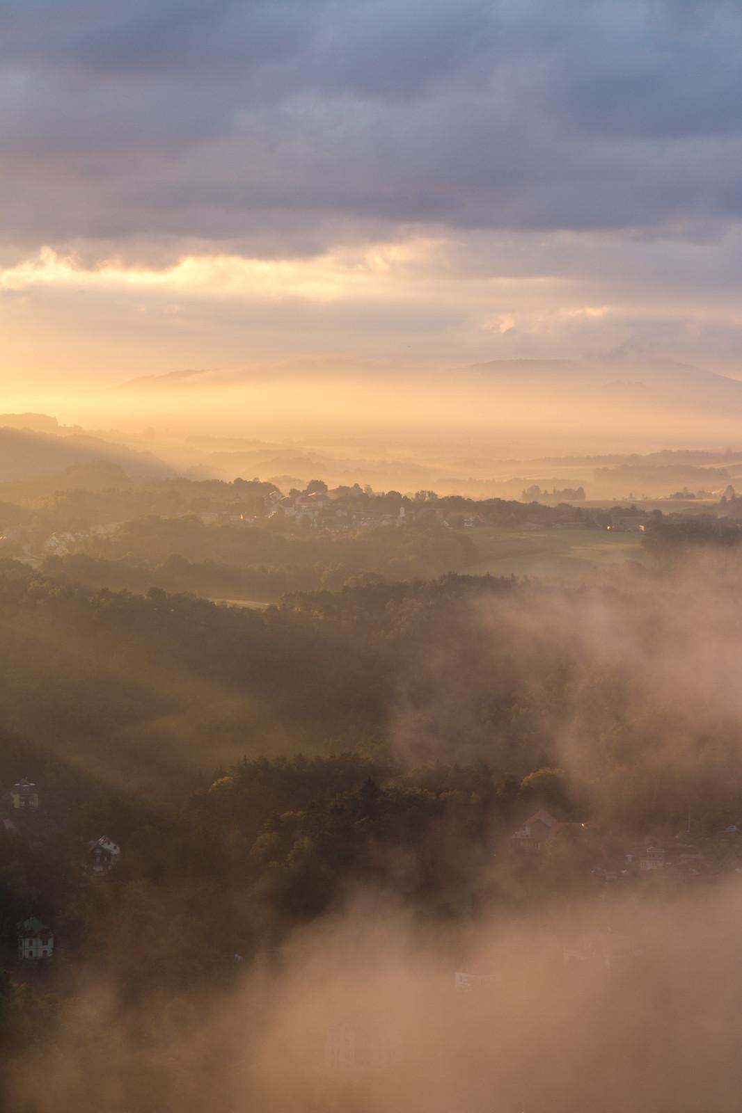 sunrise saxon switzerland