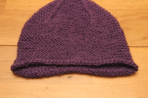 Garter Ear Flap Hat