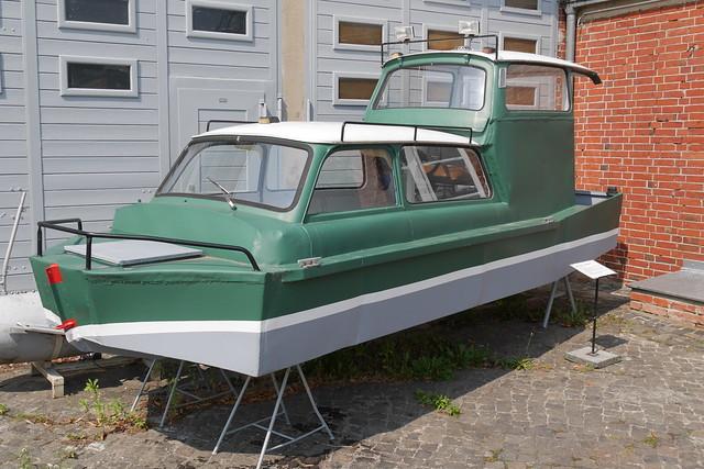 Motorboot 'Trabitanic'