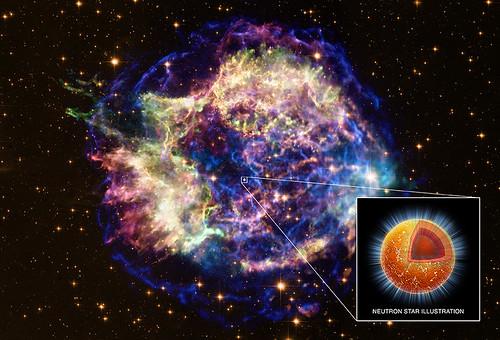 VCSE - Mai kép - A kihűlő neutroncsillag