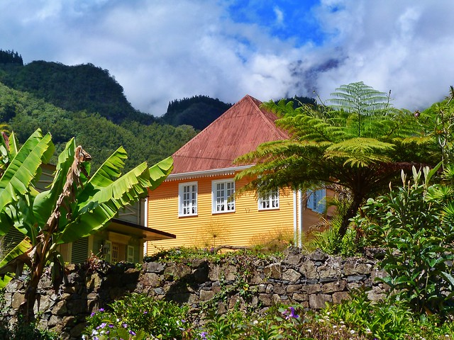 Casa criolla en Hell-Bourg (Salazie, Isla Reunión)