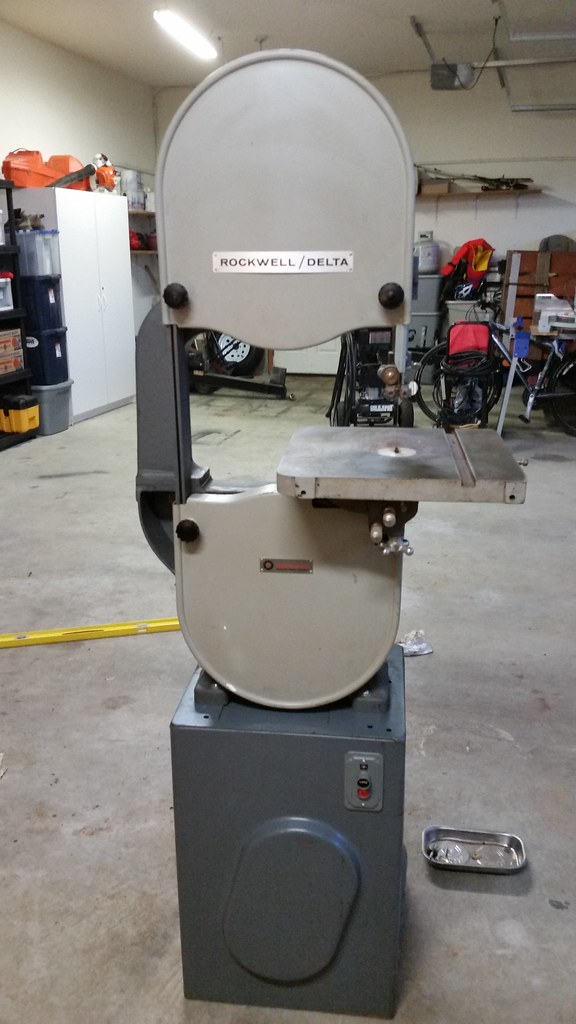 rockwell delta 28 200 bandsaw restoration the garage journal board