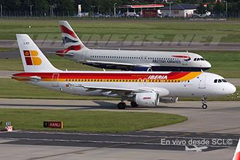 British Airways e Iberia A320 (A.Ruiz)