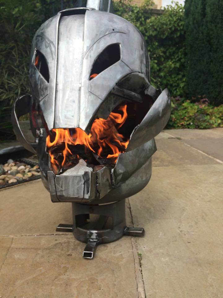 Wood burners & fire pits by Burned by Design - Ultron
