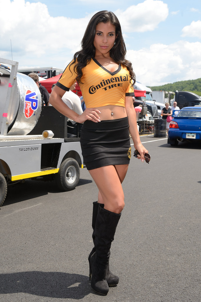 mara   continental tire grid girl continental tire