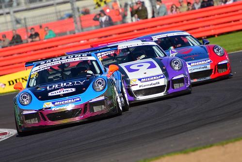 Michael Meadows, Porsche Carrera Cup GB, Silverstone 2015