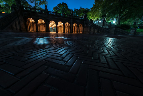 Bethesda terrace at night flickr photo sharing for Terrace night