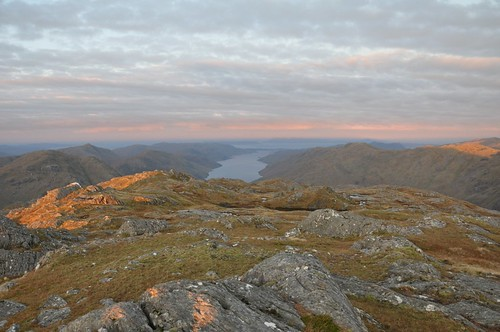 Loch Morar awaits the sun