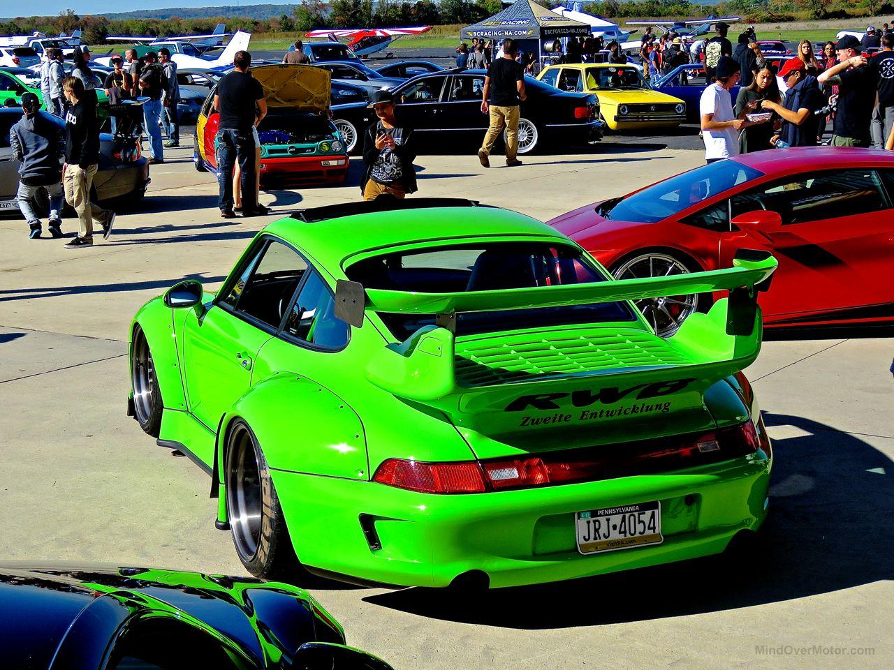 RWB Porsche 993 Philly 11