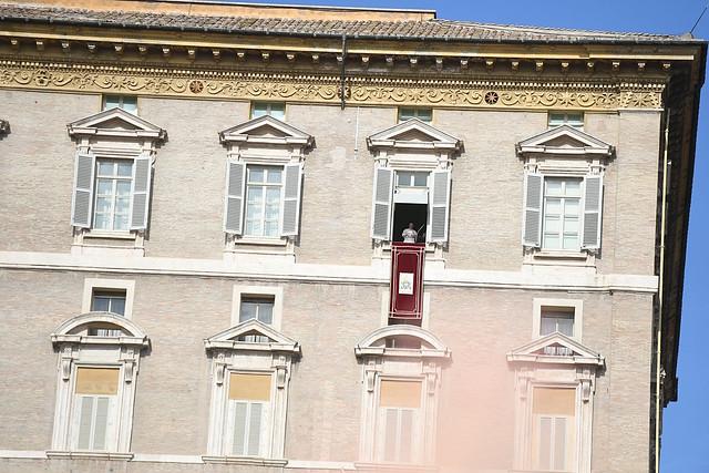 Pielgrzymka Narodowa do Rzymu – Anioł Pański z Ojcem Świętym Franciszkiem 23 X 2016