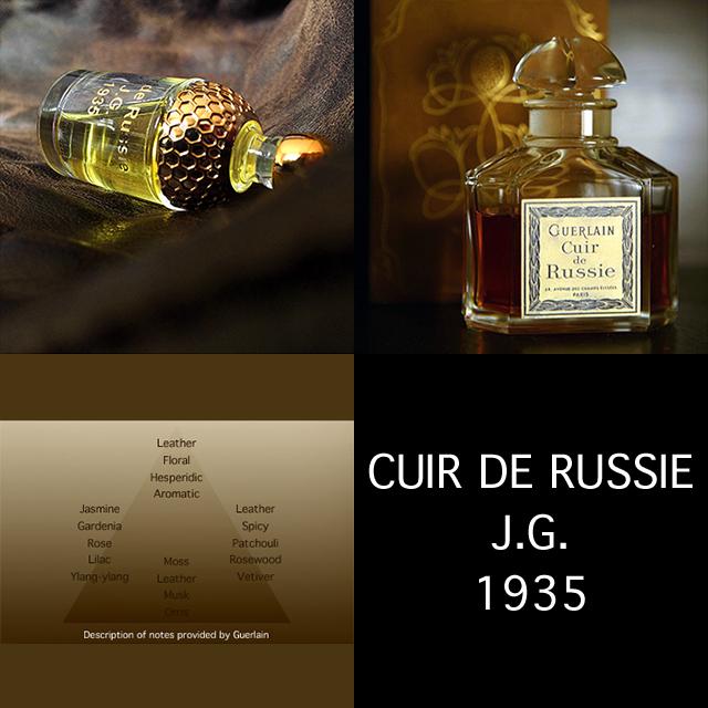 Souvent Monsieur Guerlain: CUIR DE RUSSIE YR18