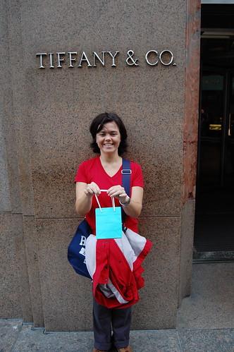 Tiffanys en la Quinta Avenida de Nueva York