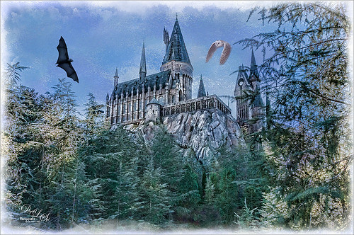 Image of Hogswart at Universal Studios-Orlando