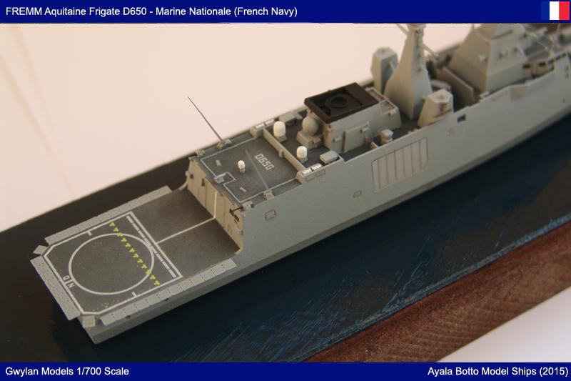 FREMM Aquitaine D650 Frégate ASM - Gwylan Models 1/700 par Ayala Botto 22390348714_38cf94e037_o