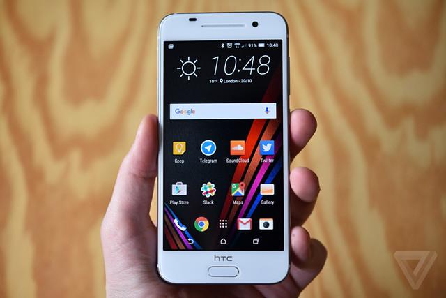 HTC One A9 có giao diện tối giản phù hợp với android 6.0