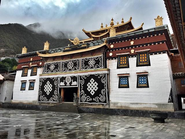 Monasterio Dongzhulin (Yunnan, China)