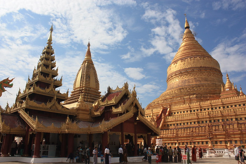 Бирма, пагода Швезигон (Shwezigon)