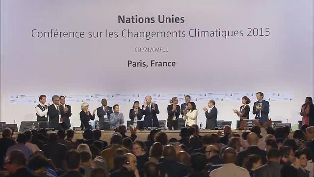 COP21巴黎協定通過