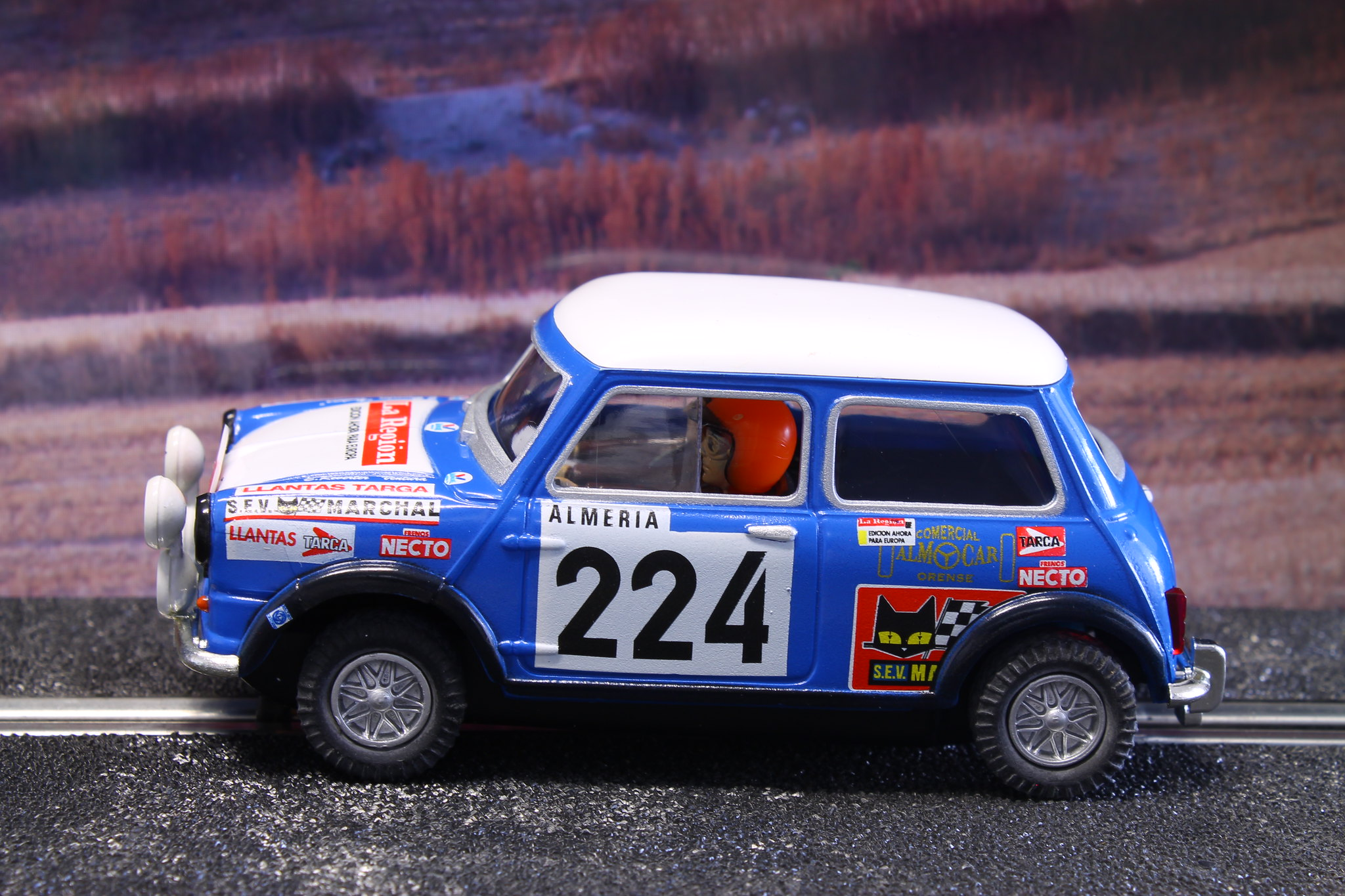 authi mini 1275 estanislao reverter rally de monte carlo 1973 ukloma slot cars blog. Black Bedroom Furniture Sets. Home Design Ideas
