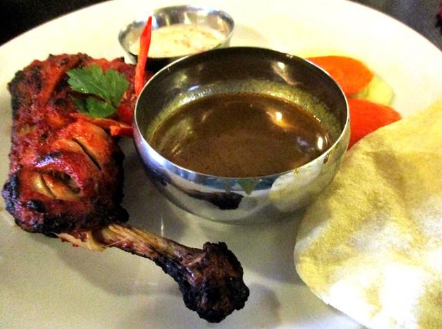 Cafe Ind tandoori chicken 1