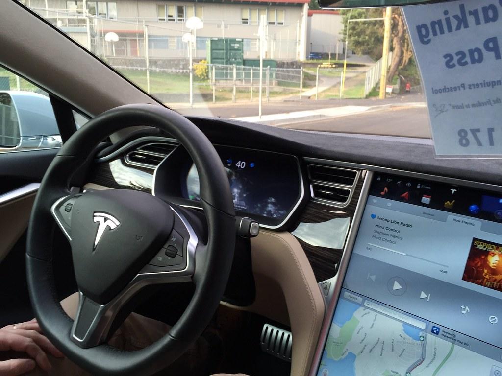 Testing The Tesla Autopilot Self Driving Mode Marc Van